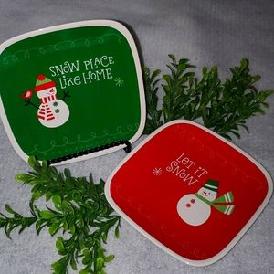 Hallmark Decorative Holiday Plates